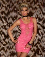 Sexy women's Lace Stretch Bodycon Dress Hot Party Evening wear Dress 8,10,12