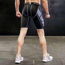 Men Sports Compression Shorts Pants Athletic Under Skin Base Layer Tights Pants