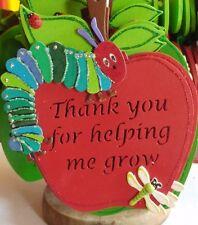Thank you Teacher / T.A  End of Term wooden Gifts Children's School /  Nursery