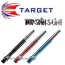 3 shafts target TOP SPIN S-LINE Dart-Lunghezza e Colore a scelta-versandkostenfr.