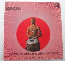 """GUEM """"Rythmes africains, afro-cubains..."""" Vinyl 33t/LP"""