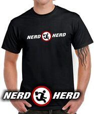 T-SHIRT | Nerd Herd | Chuck | buy more | Movie TV di culto | Parody | logo funshirt