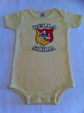 Sicilia Baby Jumpsuit Sicilian Bambini Sicily One Piece Babies Italian Gift New