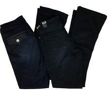 Seven7 Jeans Rockstar Slim Dark Wash Embellished Pocket Flap