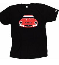 Custom HTees T-Shirt-Jaguar E-type, XKE, elija Coche Color & Plate, S-XXXL