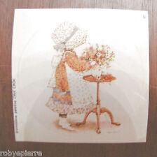 ADESIVO sticker adesivi vintage HOLLY HOBBIE gadget patatine crik crok tavolino