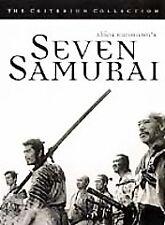 Seven Samurai (Dvd, 1998, Criterion Collection) Dvd Brand New Nib free S&H?