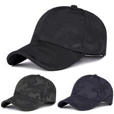 Herren Damen Basecap Schirmmütze Camouflage Sport Cap Kappe Baseball Mütze Hut