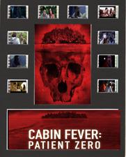 Cabin Fever Patient Zero Replica Film Cell Presentation 10x8 Mounted 10 cells
