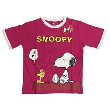Maglietta Maniche Corte Snoopy e Woodstock, T-shirt Peanuts *04858
