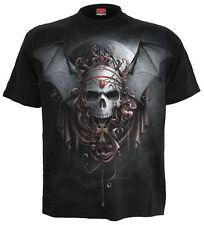 Spiral Goth Nights, T-Shirt Black|Bats|Moon|Vixen|Skulls