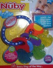 Nuby Icybite Teether, Baby Shower, Diaper Cake, BPA Free, Purice Gel, Toy Keys