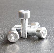 M5 x 15mm Bolts Aluminium Anodised Silver Screws M5 Cap Head M5 x 15mm 20mm Bolt