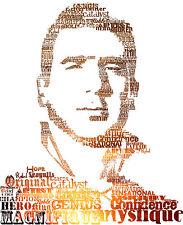 Eric Cantona parole poster A1 a A4 (icona / MAVERICK / Manchester United)