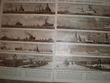 IMPERO è in pericolo attraverso RIDUZIONI Navy G H Davis 1933 VECCHIE STAMPE