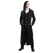 Vixxsin Gothic Goth Victorian Vintage Steampunk Herren Mantel - Silent Coat