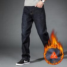 c8d433da2c item 2 Men's winter Warm thick Pants cotton Trousers Thermal jeans fleece  lined Denim -Men's winter Warm thick Pants cotton Trousers Thermal jeans  fleece ...