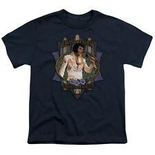 Elvis Presley Kids T-Shirt Aloha From Hawaii Navy Tee