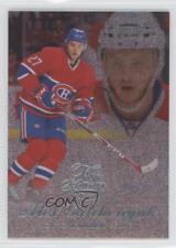 2014-15 Fleer Showcase Flair Row 2 Blue Ice 4 Alex Galchenyuk Montreal Canadiens