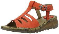Fly London Tesk Wedge Heel Sandals Brand New in Box