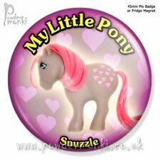 "MY LITTLE PONY ""Snuzzle"" ~ Pin Badge or Fridge Magnet [45mm] Retro Toys"