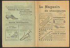 """PARIS (I°) Mensuel illustré / MODE """"LE MAGASIN DE CHAUSSURES"""" en 1892"""