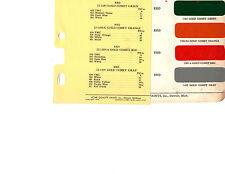 1953 1954 1955 REO TRUCKS 53 54 55 PAINT CHIPS ACME 3 4PC