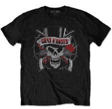 Guns N' Roses 'Distressed Skull' T-Shirt - NEW & OFFICIAL!