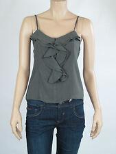 Ladies Barkins Sleeveless Top / Blouse sizes 10 12 14 Colour Thyme
