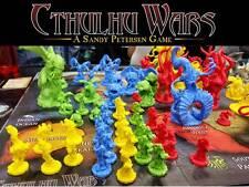 CTHULHU WARS FIGURINES A L'UNITE #1 - CTHULHU, NYARLATHOTEP, SHUB NIGGURATH...