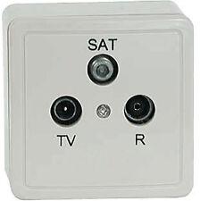 SAT Dose Antennendose 3 fach Class A digital FULL HDTV HD ready
