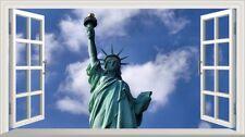 NEW York Statua della Libertà Magic Finestra Wall Art POSTER Autoadesivo V 107 *
