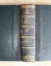 Tobias Smollet-Peregrine Pickle-romanzo-I/II. BD. in un BD. - tedesco-in pelle 1846