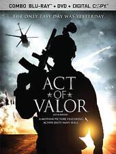 Act of Valor [Blu-ray + DVD + Digital Copy], Very Good DVD, ,