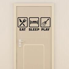 Sticker Geant XXL Panneau, manger, dormir, jouer, 40x98 cm à 60x148 cm (PAN001)