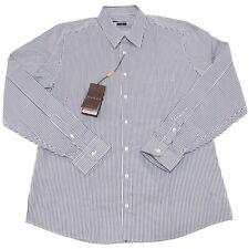 4730O camicia manica lunga slim GUCCI bianco verde uomo shirt men 7719dc89d12