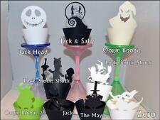 Nightmare Before Christmas tema cupcake Wrappers X 12 Grande Valore