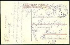 "AUSTRIA/HUNGARY 1914, Naval postcard, ship ""ARPAD"""