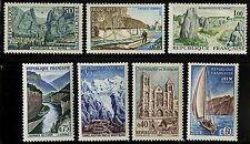 France   1965   Scott # 1124-1130   MNH Set