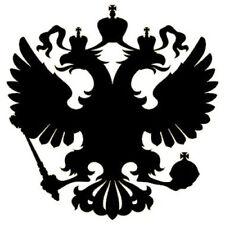 2x Auto Aufkleber Russland Adler Россия Russia Vinyl Sticker konturgeschnitten