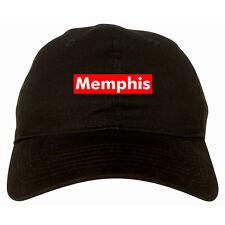 Memphis Tennessee Red Box Dad Hat Baseball Cap