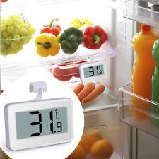 Digital LCD Refrigerator Freezer Thermometer Aquarium Fridge Sensor Probe Hook