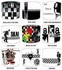 Lampshades Ideal To Match Ska Studios Duvet Madness Wall Art Punk Rock Wallpaper