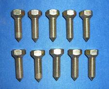 JAGUAR DAIMLER DOOR HINGE BOLT FIT MK2 E-TYPE S-TYPE 420 DAIMLER V8 BD17034 X 10