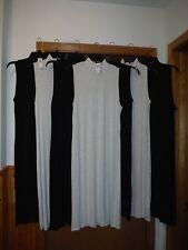 Sleeveless Mock Neck long Dresses GAP 2XL,XL,L,M,Black,Light Grey ,Soft & Stretc