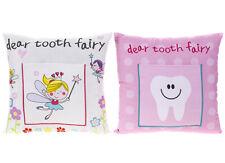 30cm x 30cm Girls Tooth Fairy Pillow Cushion Kids Money Note Letter Pocket