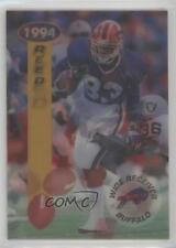 1994 Sportflics 2000 #93 Andre Reed Buffalo Bills Football Card