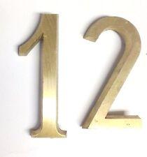 Italian Cast Metal Numbers 4 Inch (G. Curi/Bosisio Foundries) Times New Roman