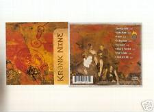 Krank Nine - S/T (CD 2000) DETROIT METAL!