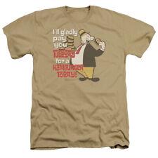 Popeye Tuesday Mens Heather Shirt Sand